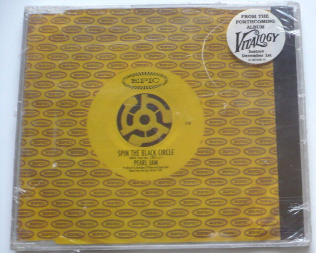 PEARL JAM - Spin the black circle - 2-Track Maxi-CD > NEW!