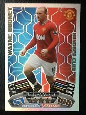 TOPPS MATCH ATTAX 2011/12 HUNDRED 100  CLUB #424 WAYNE ROONEY