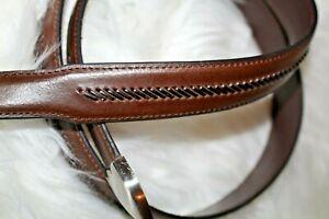 Nocona-Men-039-s-44-Brown-Leather-belt