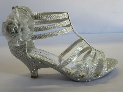 ToddlerFlower Girl Party Shoes Girls Dress Shoes Pageant Heels time29