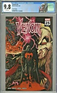 Venom-25-CGC-9-8-2nd-Second-Printing-Edition-Variant-Stegman-Wraparound-Cover