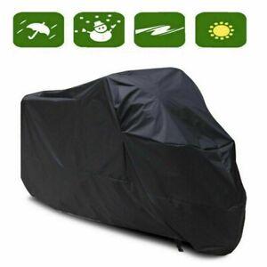 Housse-de-protection-Moto-VTT-Couvre-Moto-Couverture-Noir-impermeable