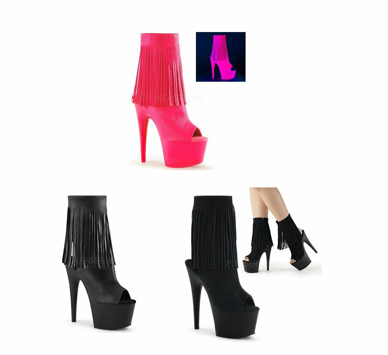 PLEASER ADORE-1019 7  Heel Platforms Exotic Dancing Ankle Boots
