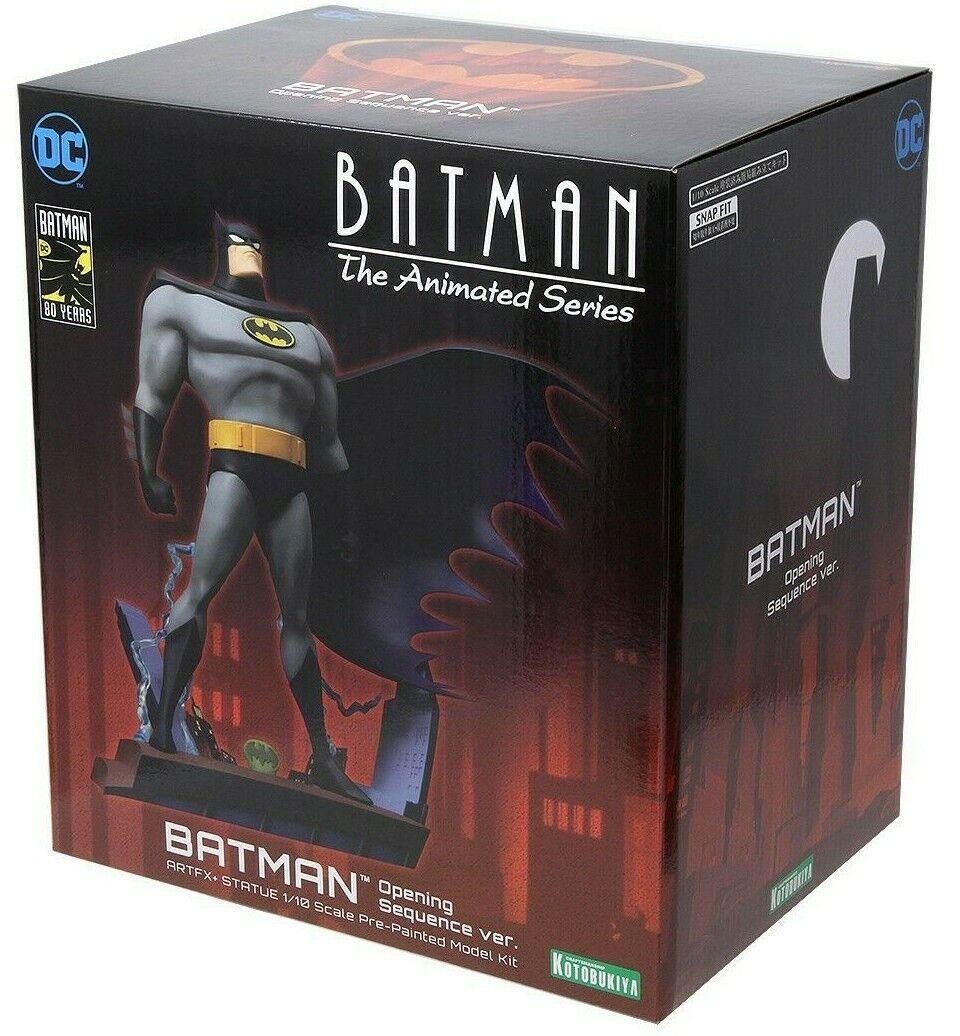 Batman The Animated Series Opening Sequence Ver. Artfx+ Statue 1 10 Kotobukiya