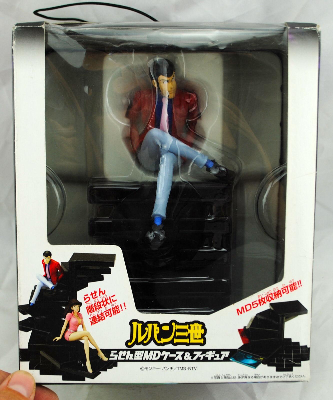 Figurine  LUPIN The Third 3rd SPIRAL TYPE MD CASE & cifra Banpresto Neuve  la migliore offerta del negozio online