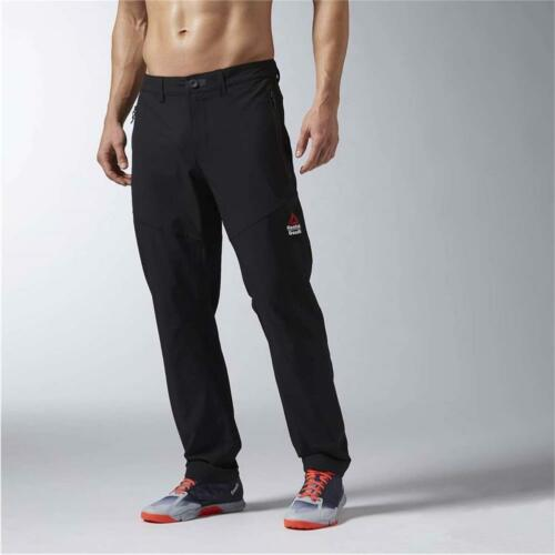 NEW Reebok Men's Clothing CrossFit Woven Pants AX8906 100/% AUTHENTIC
