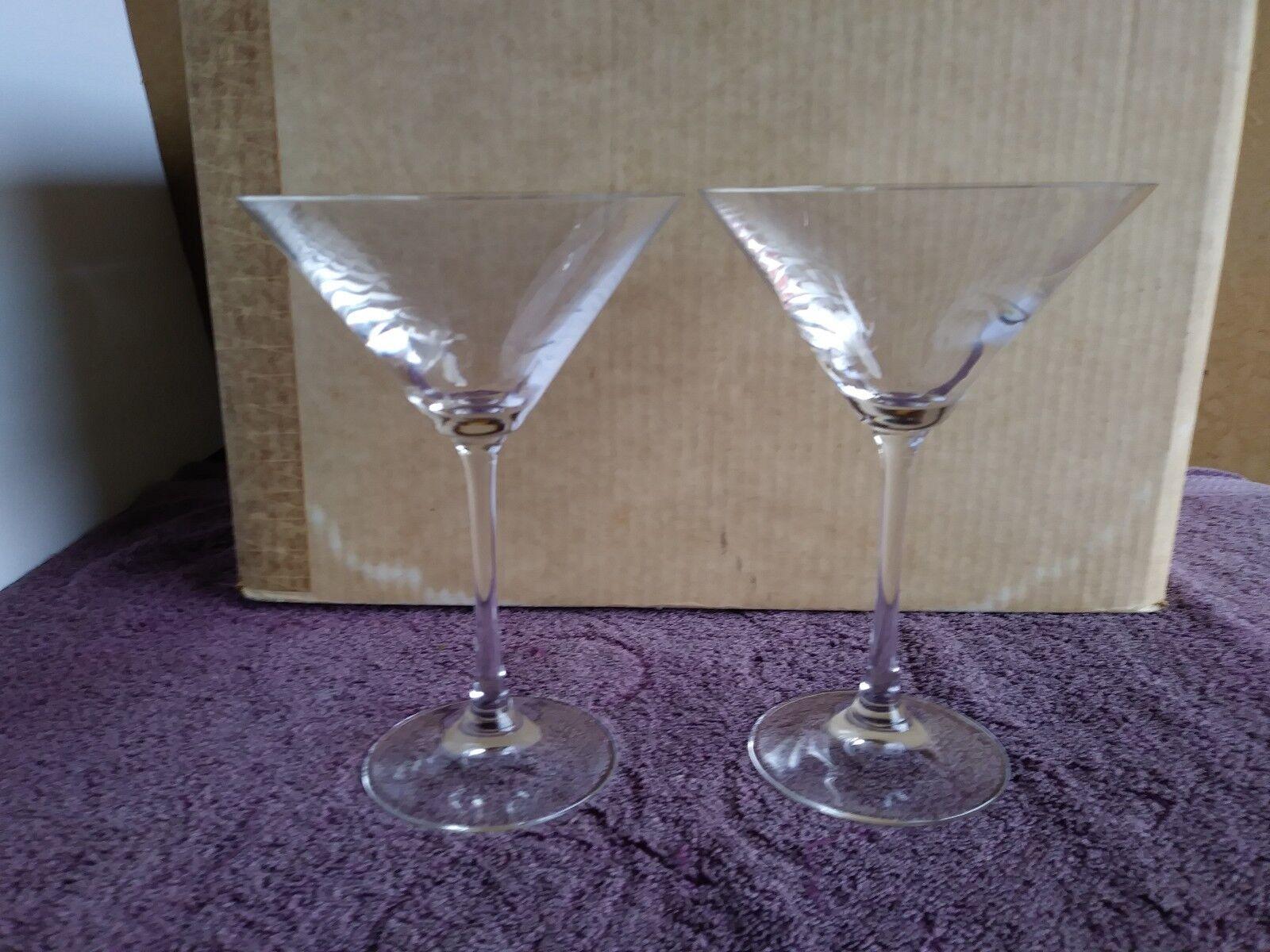 Spiegelau Germany Vino Grande Clear Crystal Martini Champagne Glasses 7  ( 2 )