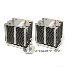 2x Processor Coolers Heatsinks for Dell Precision 490 T5400 Computer w/ Screws