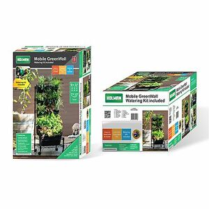 Image Is Loading Holman Mobile GreenWall VERTICAL GARDEN WATERING KIT BLACK