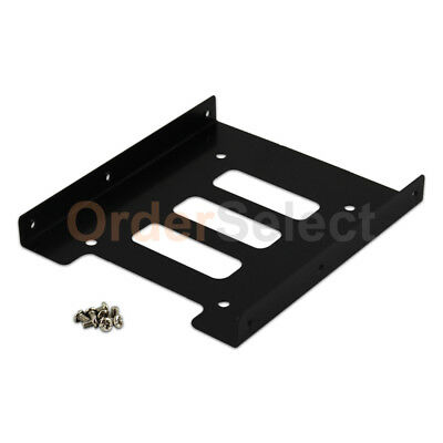 """2.5/"""" to 3.5/"""" Bay SSD Metal Hard Drive HDD Mounting Bracket Adapter Dock Tray T"""