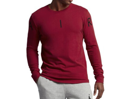 "Men/'s Brand New Air Jordan /""A.I.R/"" Long Sleeve Fashion Era T-Shirt 834470 687"