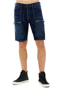 12c5d600 True Religion Men's Trail Utility Denim Jean Shorts in Union Special ...