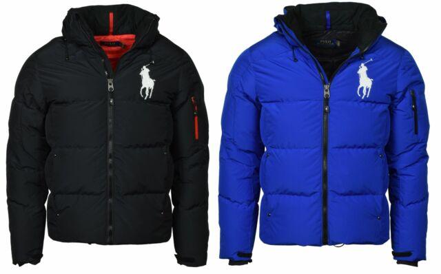 NWT Ralph Lauren Navy Blue Mesh Front Zipped Hoodie Jacket// Big Pony