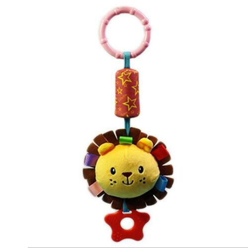 Baby Activity Spiral Stroller Car Seat Travel Lathe Hanging Toys Rattles Toy 8C