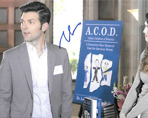 A. c. O. D.Adulte Children Of Divorce Adam Scott Signé 8x10 Photo Ad1 Coa rE6iEkgb-08015243-716057409