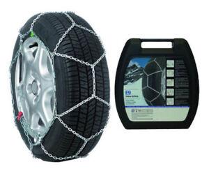 Catene da neve 9 mm FIAT 500 pneumatici 205 40 R17 205//40//17 Gruppo 7