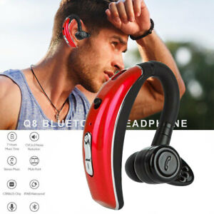 Bluetooth Headset Wireless Headphone Noise Cancelling Mic For Iphone Samsung Lg Ebay