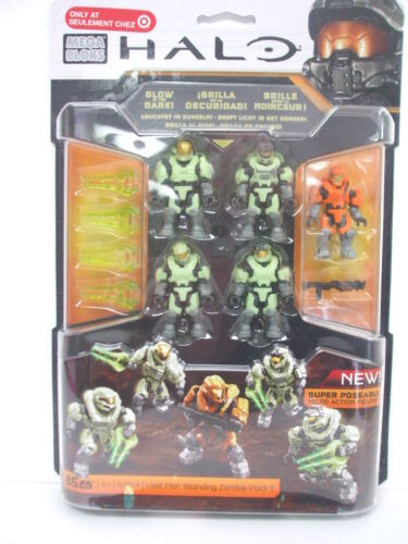 LAST MAN STANDING ZOMBIE PACK II Mega Bloks 97514 Previously Unreleased HALO