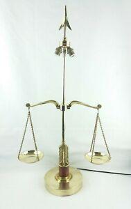 Grande-lampe-bouillotte-style-empire-arc-fleche-et-balance-en-laiton-1920-70cm