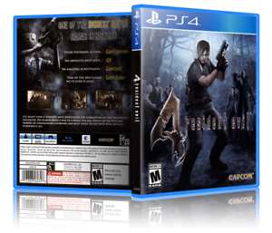 Resident-Evil-4-Replacement-PS4-Cover-and-Case-NO-GAME