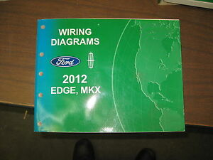 2012 ford edge lincoln mkx wiring diagrams repair service manual image is loading 2012 ford edge lincoln mkx wiring diagrams repair