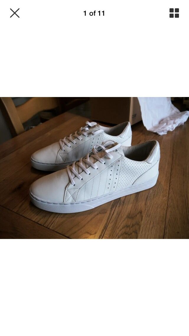 24b1abb41a96a Clae Trainers White Size 10.5 Diego nspajr5860-Trainers - heels ...