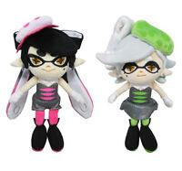 Little Buddy Set Of 2 Splatoon Callie & Marie Squid Sisters Stuffed Plush Doll