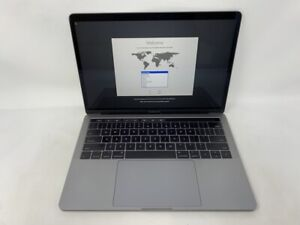 MacBook Pro 13 Touch Bar Space Gray 2017 3.5GHz i7 16GB 256GB SSD - Good - READ