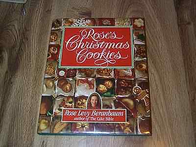 Rose S Christmas Cookies By Rose Levy Beranbaum 1st Dj Illus 1990