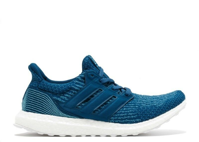 Hombre Adidas Athletic Ultra Boost Parley Edition Athletic Adidas Tenis de Moda BB4762 Azuls b214a1