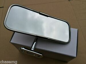 CLASSIC-CAR-MIRROR-INTERIOR-STAINLESS-STEEL-DASH-MOUNTED-BS5-9