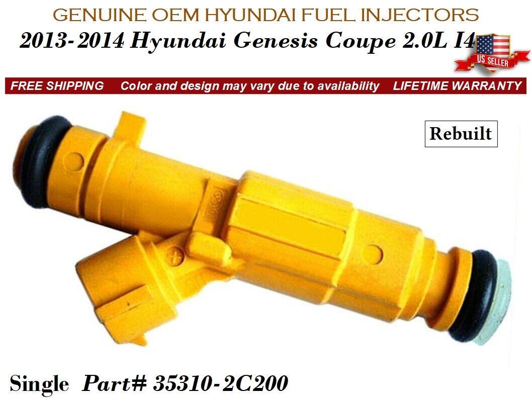 Lifetime Warranty Single OEM Fuel Injector 35310-2C200