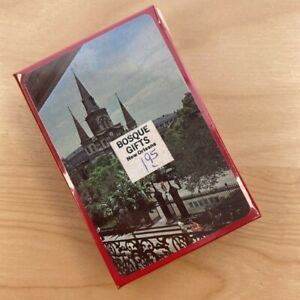 Vintage 1970's New Orleans LA Jackson Square Playing Cards NEW SEALED Fast Ship