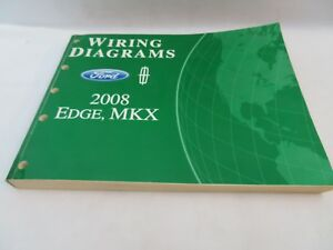 wiring diagram for 2008 ford edge 2008 ford edge mkx diagramas de fia    o manual de servi  o oem ebay  2008 ford edge mkx diagramas de fia    o