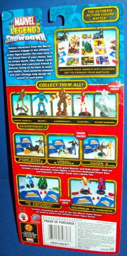 MARVEL LEGENDS SHOWDOWN figure GREEN GOBLIN booster pack 2006 NEW