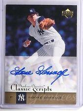 2004 Upper Deck Yankees Classics Goose Gossage Autograph auto #AU26 *59387