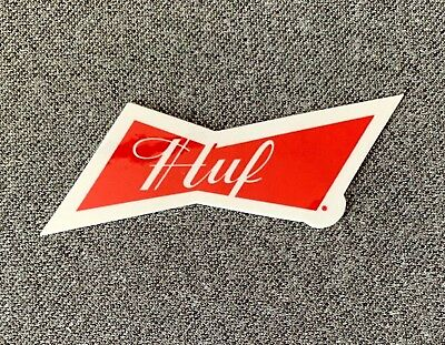 HUF x Pink Panther Skateboard Sticker triangle 2.5in si
