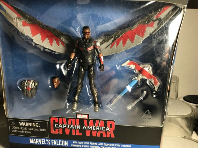 Marvel Legends Series Falcon with Flight Tech and Redwing 3.75-Inch