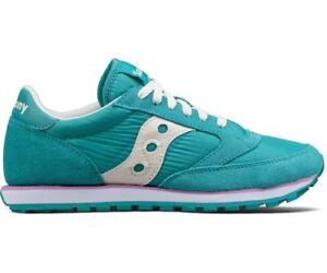 SAUCONY-JAZZ-LOWPRO-scarpe-donna-sneakers-pelle-camoscio-tela-casual-sportive