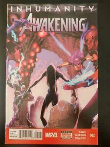 INHUMANITY-The-AWAKENING-2-2014-MARVEL-Comics-VF-NM-Book