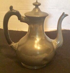Antique Thomas Otley & Sons Sheffield 1566 Teapot England