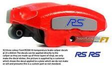 Brake caliper Decal to fit Ford Focus Mk2 RS500 Car three colour x 2