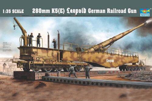 Trumpeter 00207 1 35 German 280mm K5(E) Leopold
