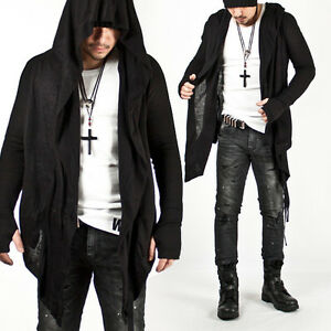 new mens fashion mod stylish avantgarde dark punk hood