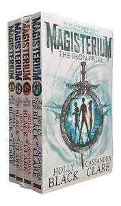 Magisterium-4-Book-Holly-Black-Cassandra-Clare-Magic-Fantasy-Kids-Iron-Trial-New