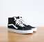 New-Vans-Sk8-Hi-High-top-Canvas-Suede-Black-or-Navy-Blue-Skate-Shoes-Sneakers thumbnail 13