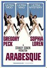 Arabesque 0025192085833 With Gregory Peck DVD Region 1