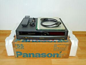 Panasonic NV-F55 VHS-Videorecorder, komplett in OVP, 2 Jahre Garantie