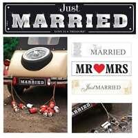 Autokennzeichen Hochzeit Nummernschilder Braut Auto Dekoration Plate Wedding Car