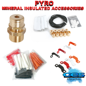 Pyro Mineral Insulated Accessories Cable Clips Glands